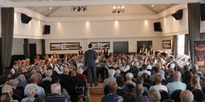 Harmonie speelt prima try-out voor Koningsconcert