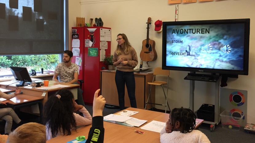 De reis om de wereld maakt tussenstop op scholen in Son en Breugel