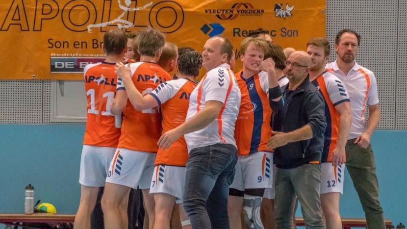 Apollo heren 1 in race voor promotie naar 2e divisie