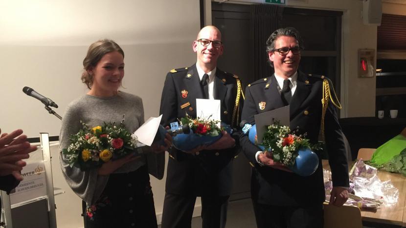 De laatste uitruk voor drie brandweervrijwilligers