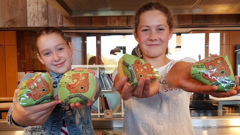 Pop-up kaaswinkel en kookworkshop voor kinderen in de bieb