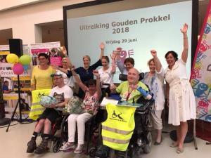 Zonhove project 'Verkeersweek Op Wielen' winnaar Gouden Prokkel 2018
