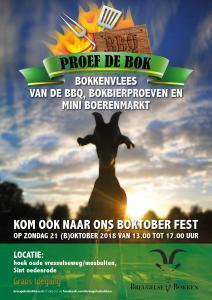 Poster boktoberfest Breugelse Bokken