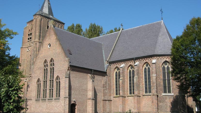 Sint-Genovevakerk in Breugel
