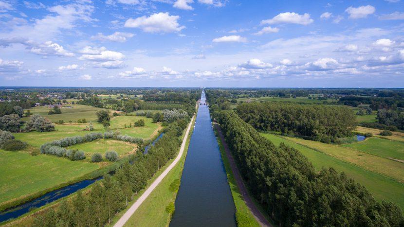 Wilhelminakanaal richting Lieshout