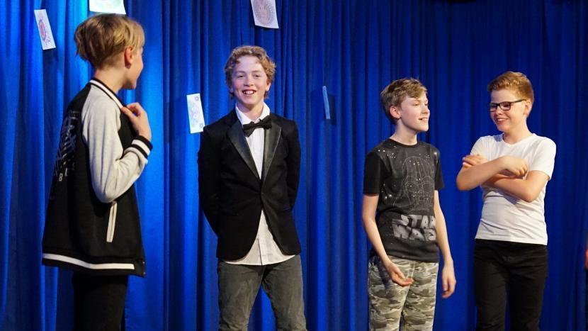Toneelgroep High School van jongerencentrum Oase zoekt talenten