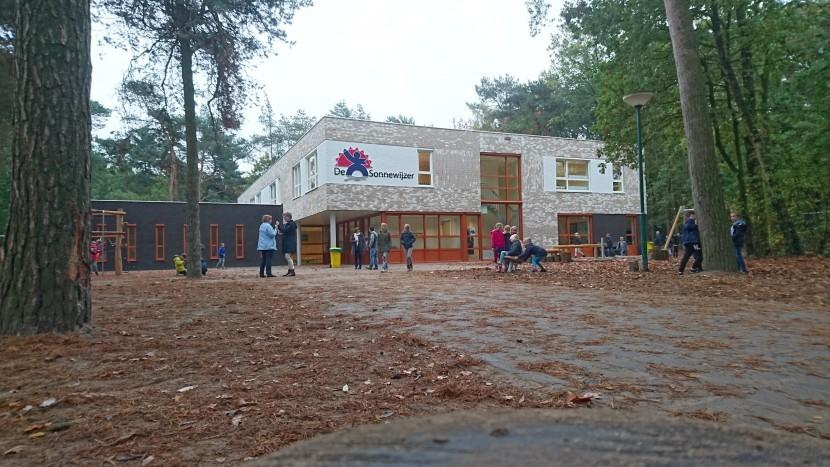 Kom het nieuwe gebouw van basisschool de Sonnewijzer bekijken