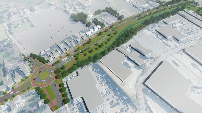 Gas terug op concept voor vernieuwde Eindhovenseweg