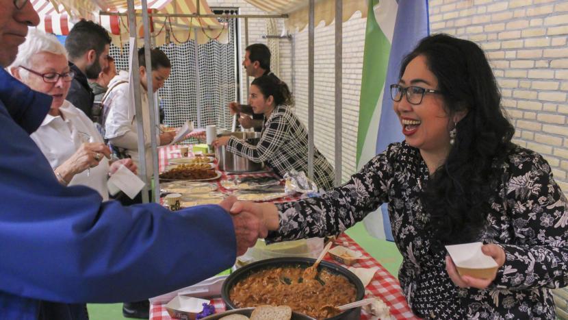 Grenzeloos genieten bij het International Foodfestival