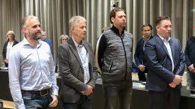 Vier nieuwe burgerleden betreden het politieke strijdtoneel