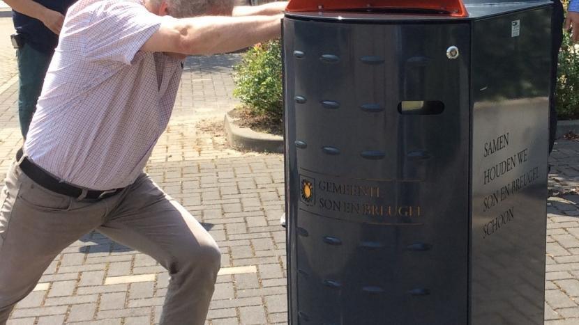 Nog betere afvalscheiding met nieuwe afvalbakken