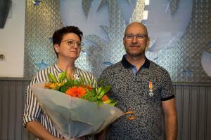 Koninklijke onderscheiding Marijn Verstantvoort