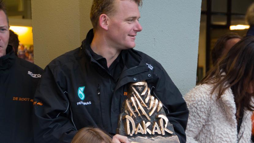 Gerard de Rooy keert in 2019 terug in de Dakar Rally
