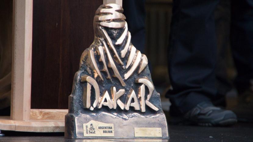 Gerard de Rooy van start in Dakar 2017