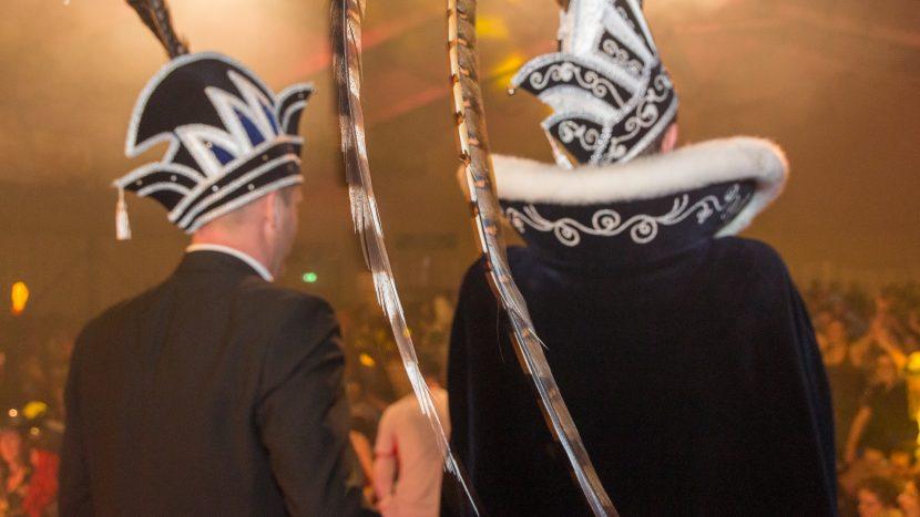 Adjudant en prins van carnavalsvereniging de Krutjesrapers