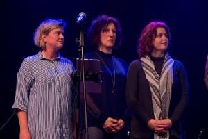 Vrijwilligerspenningen uitgereikt aan Angélique Hubers, Maaike van Kempen en Diana van der Looij