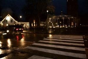 Ledverlichting bij zebrapaden