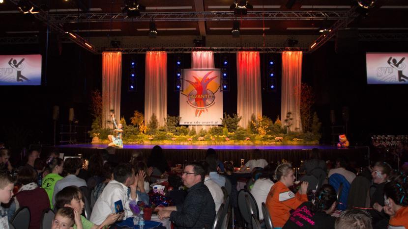 Breugel was even het middelpunt van de Nederlandse showdanssport tijdens het NK, georganiseerd door showdansvereniging Avanti.