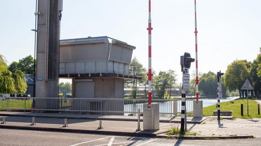 Controleruimte brug over het Wilhelminakanaal Son
