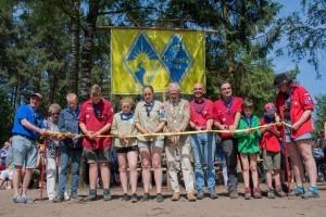 Bloed, zweet en tranen bouwden de nieuwe blokhut van scouting Dutmella