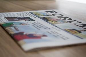 26 juni valt weekblad Forum voor het laatst op de mat