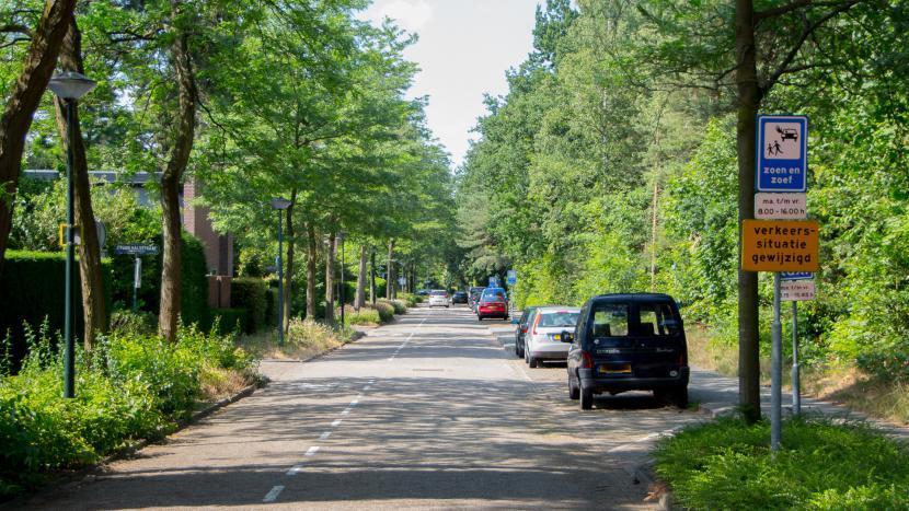 Wegwerkzaamheden Ruysdaelstraattijdens de zomervakantie