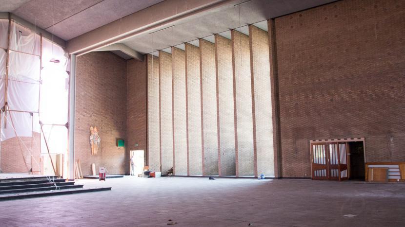 Kosten voor tijdelijk hergebruik van voormalig kerkgebouw te hoog