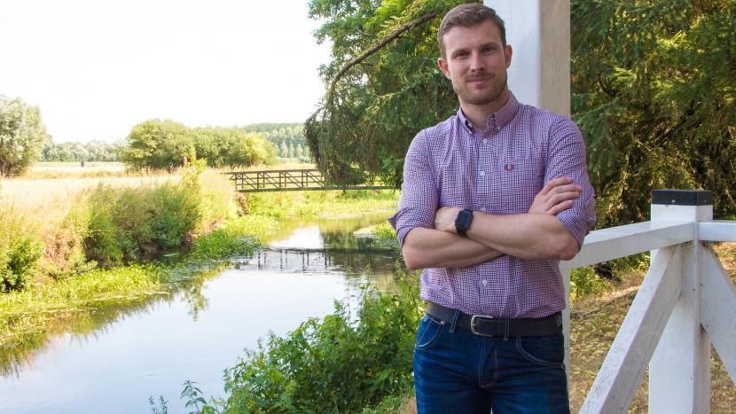 Tom van den Nieuwenhuijzen gaat 100% voor een klimaatneutraal dorp
