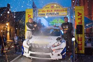 Jasper van den Heuvel en Lisette Bakker winnen de 55e ELE Rally