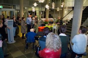 Expositie 'Grondleggers' van Sandra Kuijpers geopend