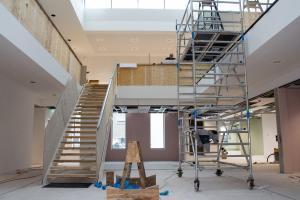 Een kijkje bij de nieuwbouw van het gemeentehuis