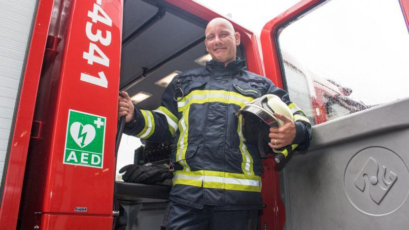 De brandweer is een lang gekoesterde droom van Danny