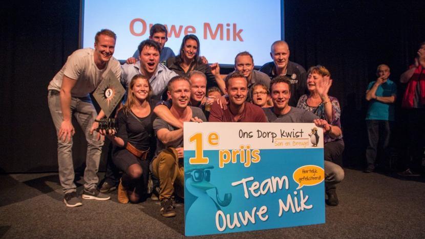 Ouwe Mik prolongeert titel Ons Dorp Kwist 2016