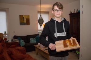 Rick Speetjens bakt één van de lekkerste worstenbroodjes van Brabant