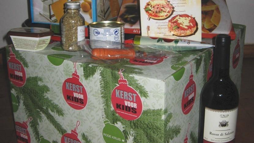 De kerstpakkettengroep bedankt iedereen voor hun bijdrage