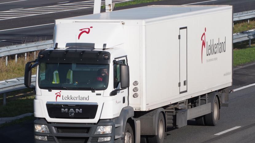 MAN vrachtwagen van Lekkerland