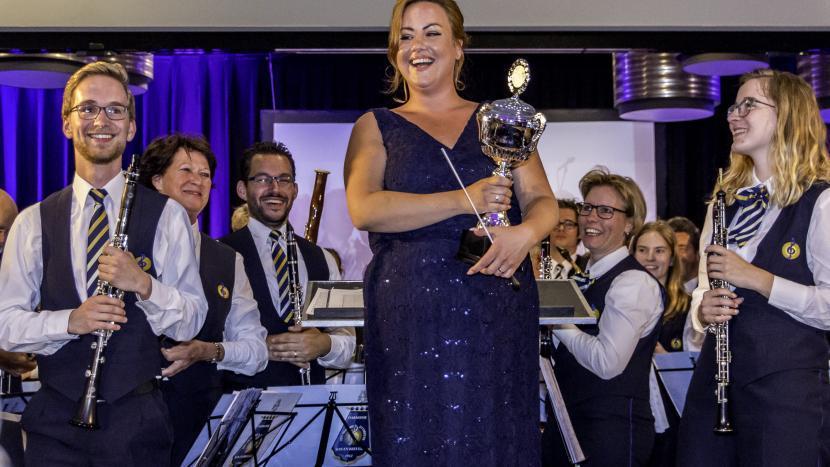 Kristel Pols-Engel mag zichzelf Maestro 2017 noemen