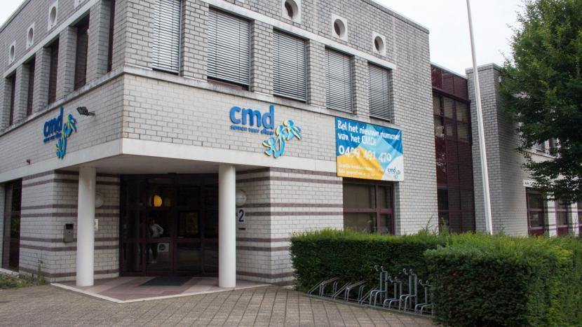 Het CMD gebouw aan de Europalaan