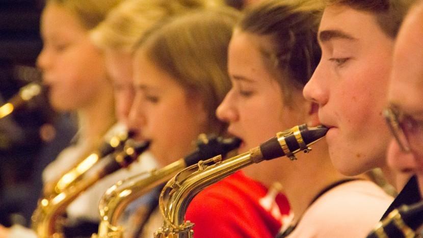 Jong talent maakt zich klaar voor Music In Blue