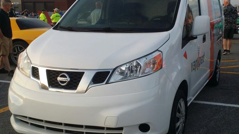 De Nissan Nv200 electrische auto