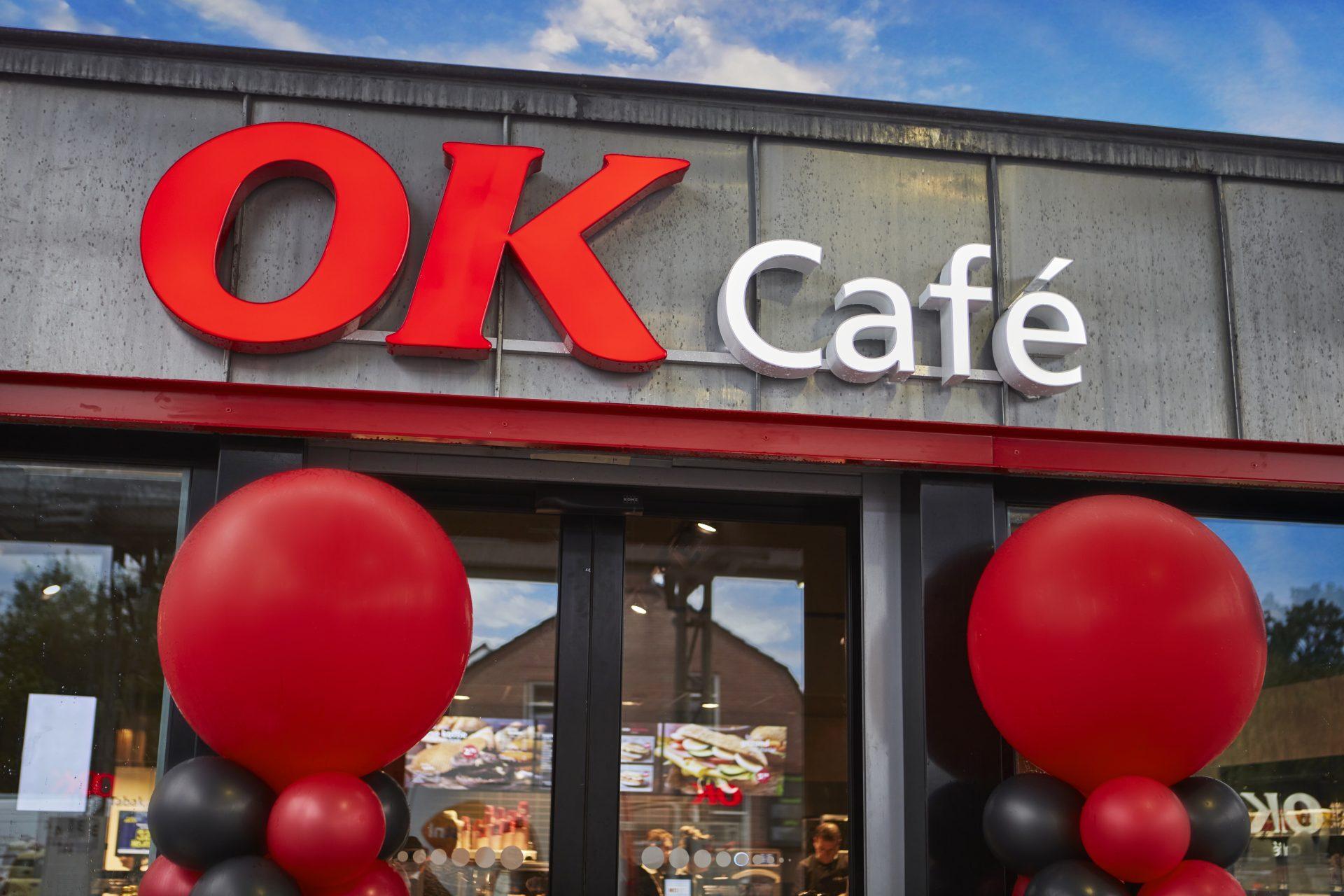Gevel OK Café bij OK Son