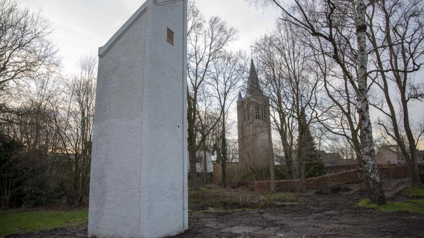de vleermuistoren in park Vroonhoven