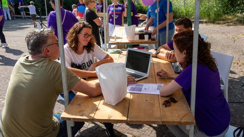 De eerste inschrijvers voor de SamenLoop voor Hoop Son en Breugel 2021