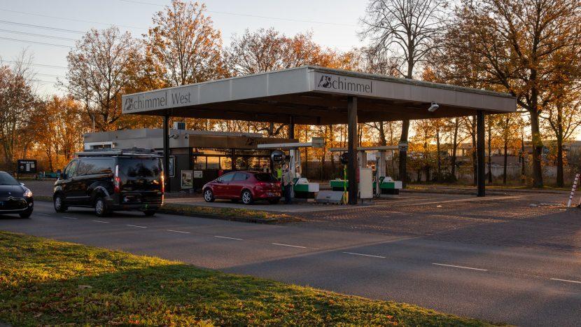 Tankstation Schimmel West aan de Eindhovenseweg