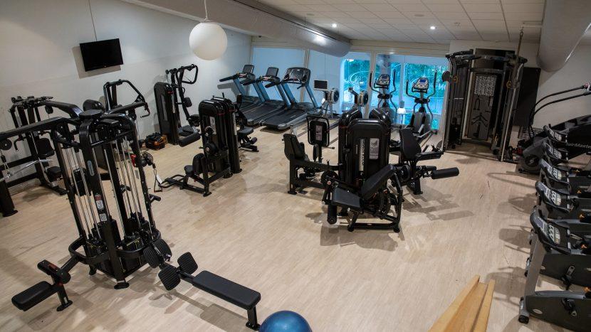 De vernieuwde fitness van Sonsport