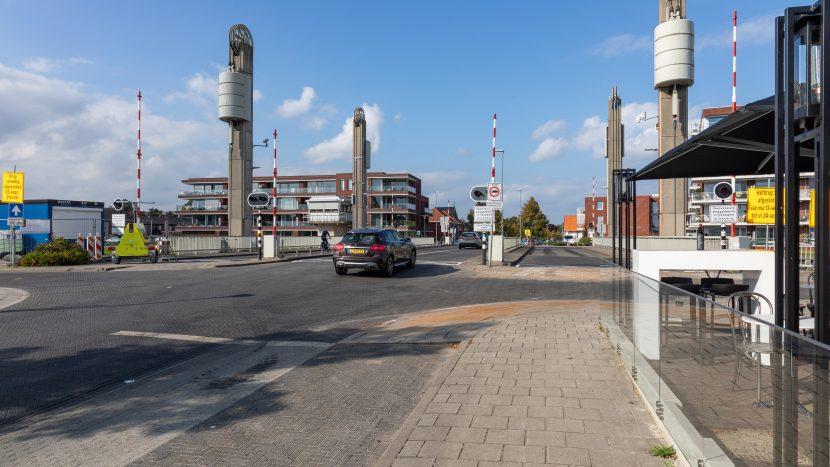 De heropende hefbrug na onderhoud door Rijkswaterstaat