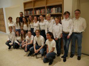 Opleidingen United in concert verbindt jeugd van Harmonie Pro Honore et Virtute