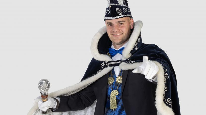 Prins Bas Coensen: We gaon als unne stuiterbal dur dizze carnaval