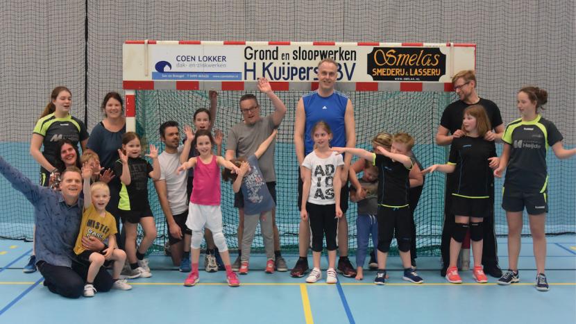 Bijzondere training E-jeugd van handbalvereniging Apollo