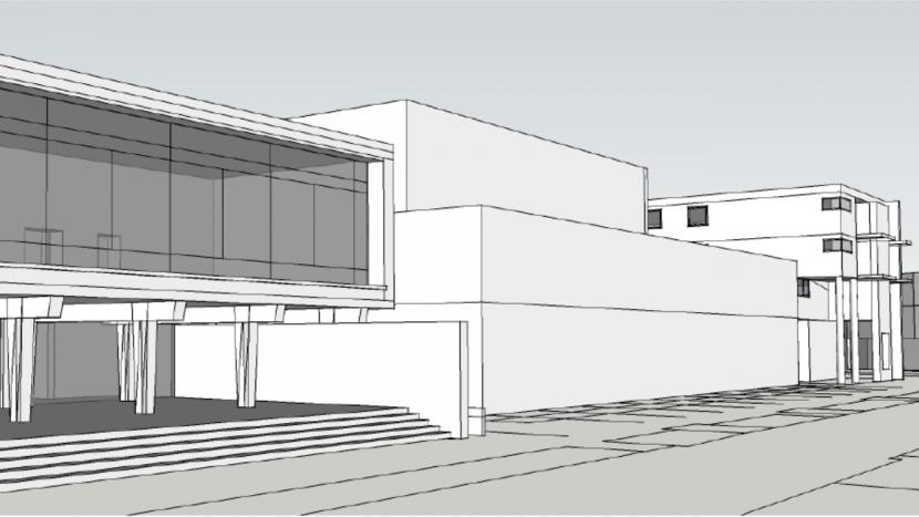 Contouren voor nieuw gemeentehuis worden zichtbaar